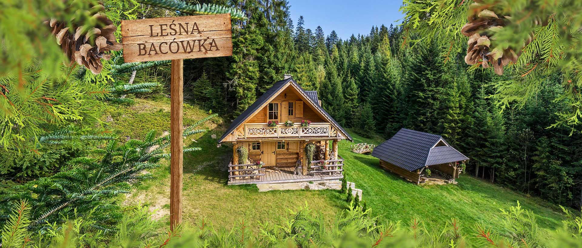 Oryginał Domek w górach do wynajęcia, noclegi Nowy Targ, Gorce - Polska LA07